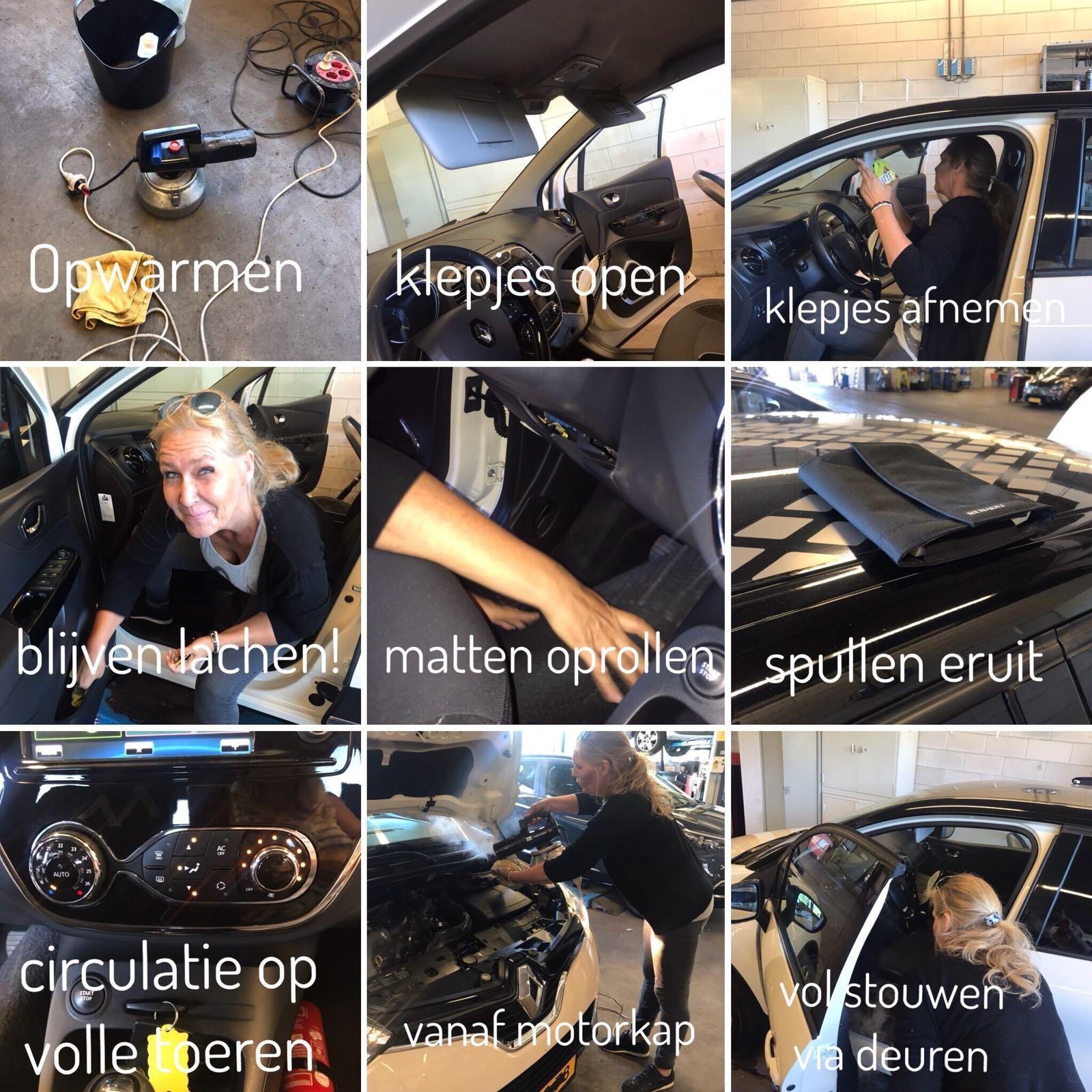 auto interieurherstel At Work! geurbehandeling