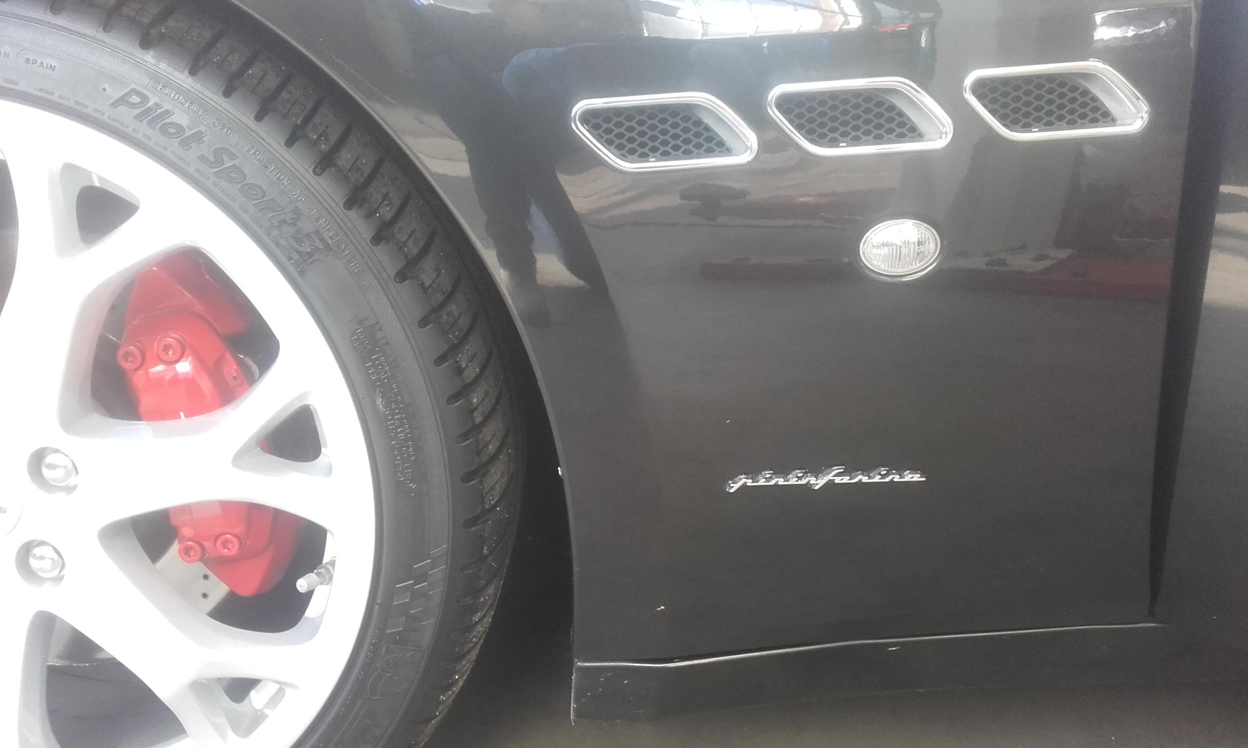 Deurpaneel reparatie Maserati 1