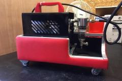 equipment compressor interieurherstel.nl op wielen!