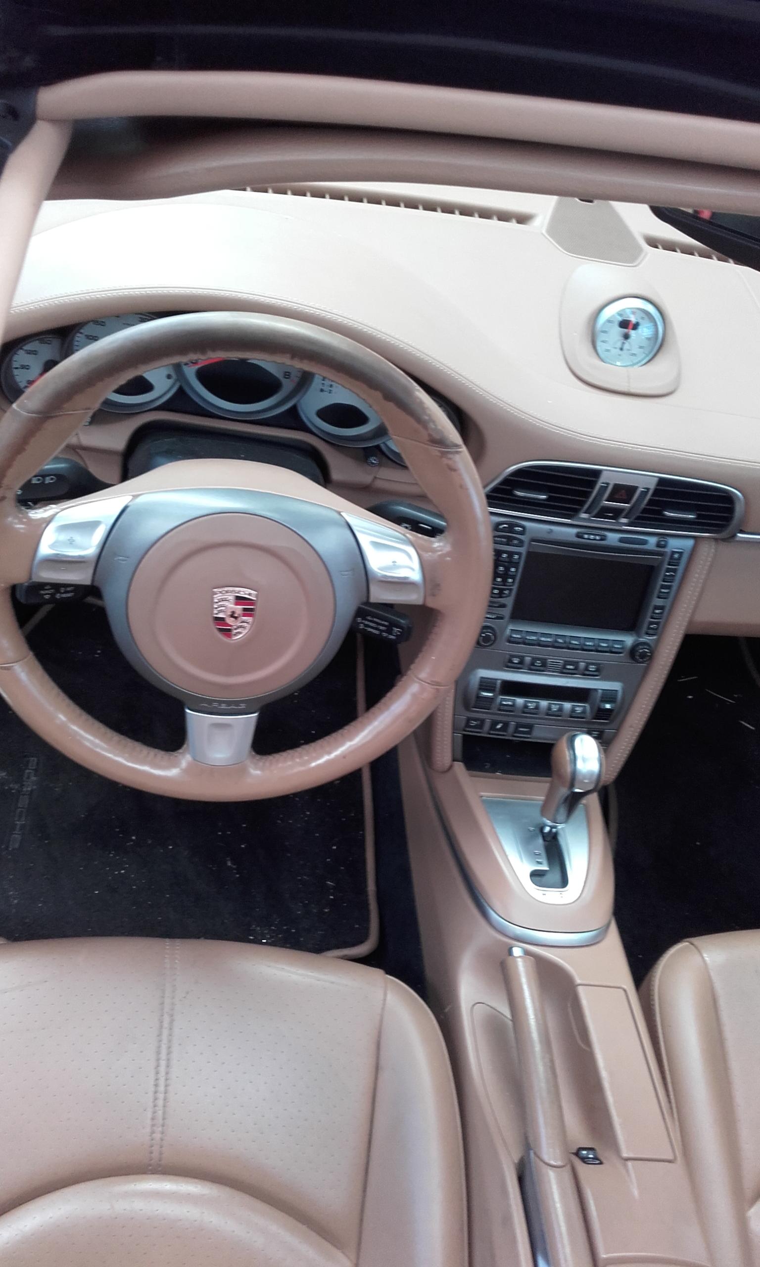 Stuur reparatie Porsche 1